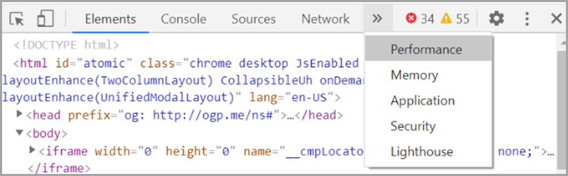 core-web-vitals-checking-LCP-with-chromes-devtools