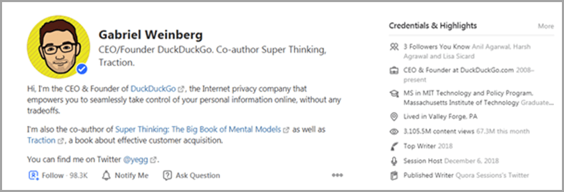 quora-CEO-founder-Gabriel-Weinberg-profile