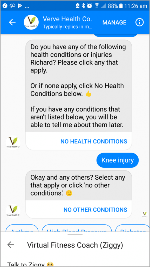 sales-chatbots-verve-health-co-ziggy-customization
