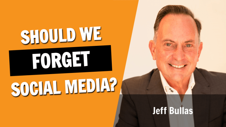 Is It Time To Forget Social Media?