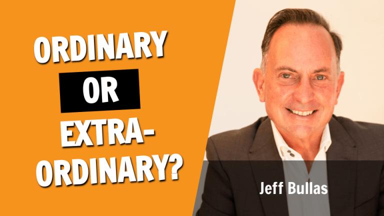 Ordinary or Extraordinary?