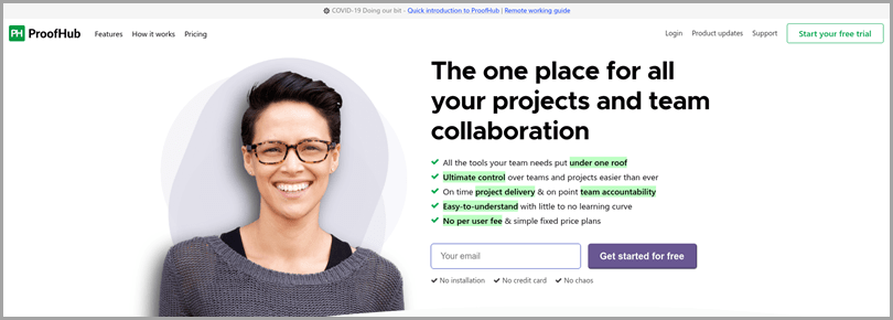 collaboration-tools-proofhub-homepage