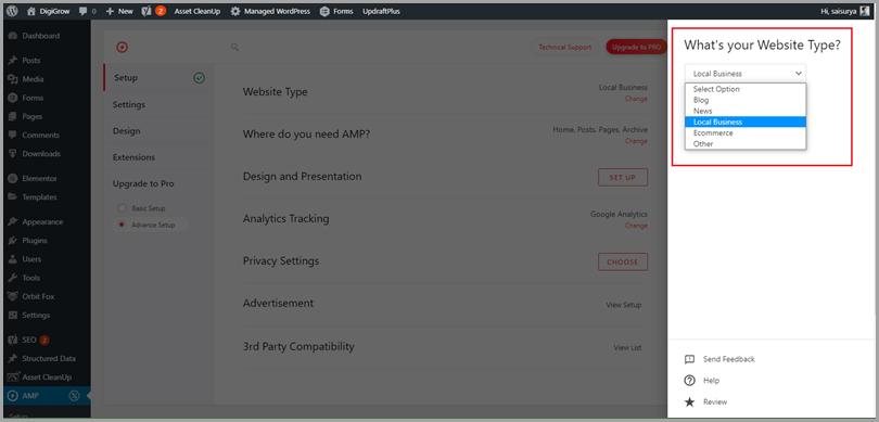 How to Setup AMP for Wordpress