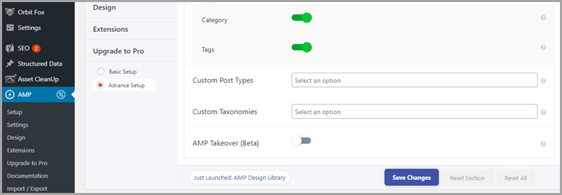 implement-AMP-wordpress-general-settings-2