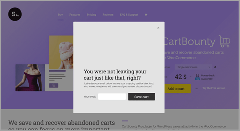 woocommerce-shop-cart-bounty-pop-up-recovery-message