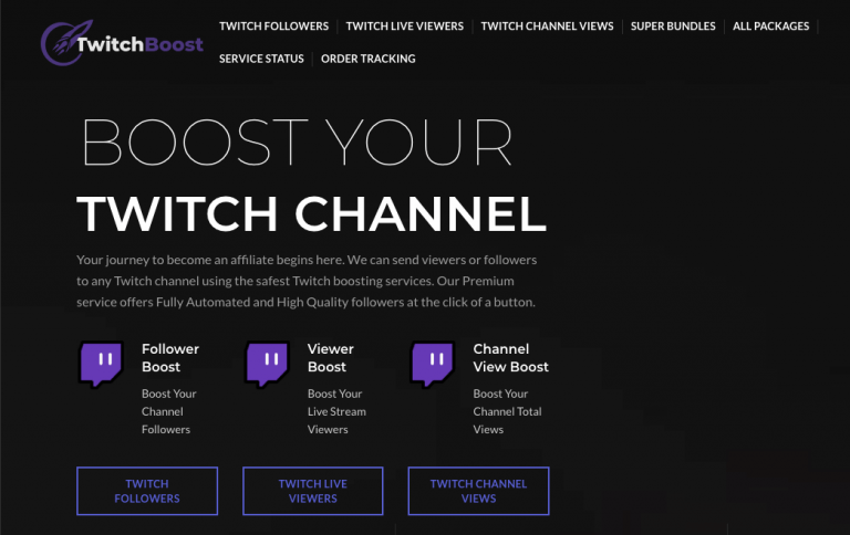 Buy Twitch Viewers - Twitch Booster