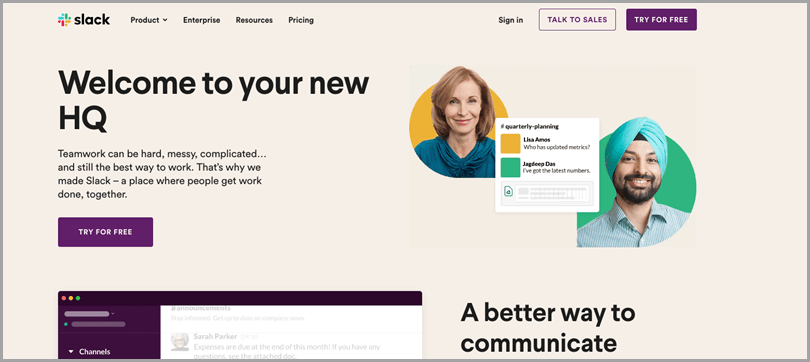 business-productivity-tools-slack-homepage