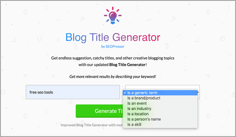 free-SEO-tools-blog-title-generator-by-SEOPressor