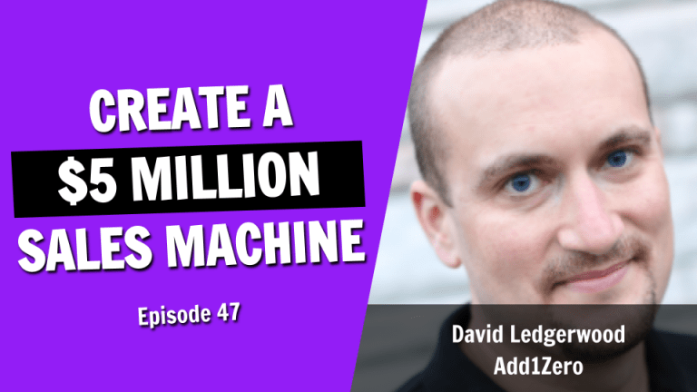 How to Create a $5 Million Sales Machine