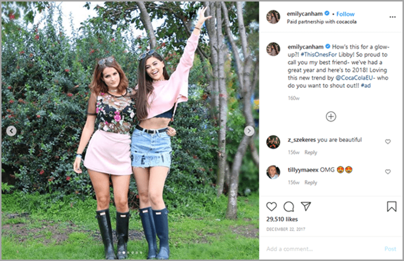 influencer-marketing-campaigns-emily-canham-instagram-post