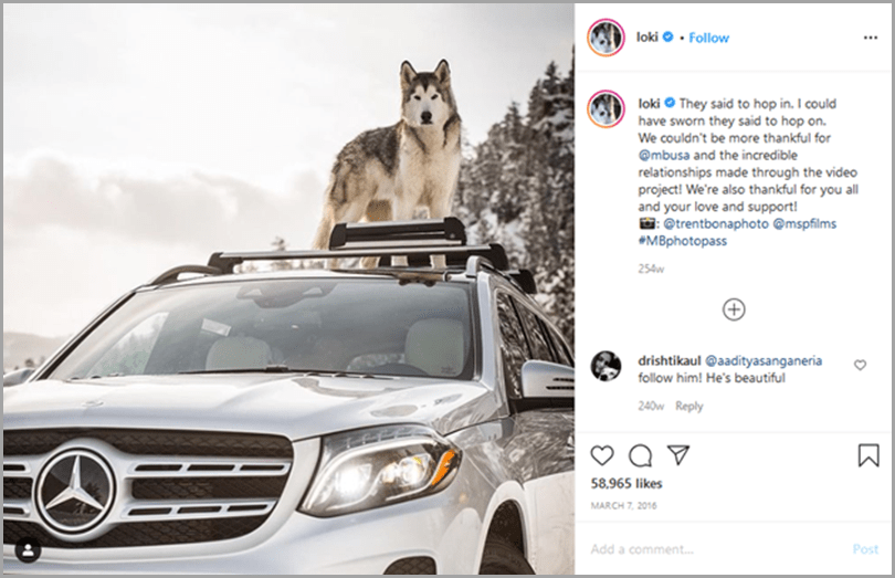influencer-marketing-campaigns-loki-instagram-post