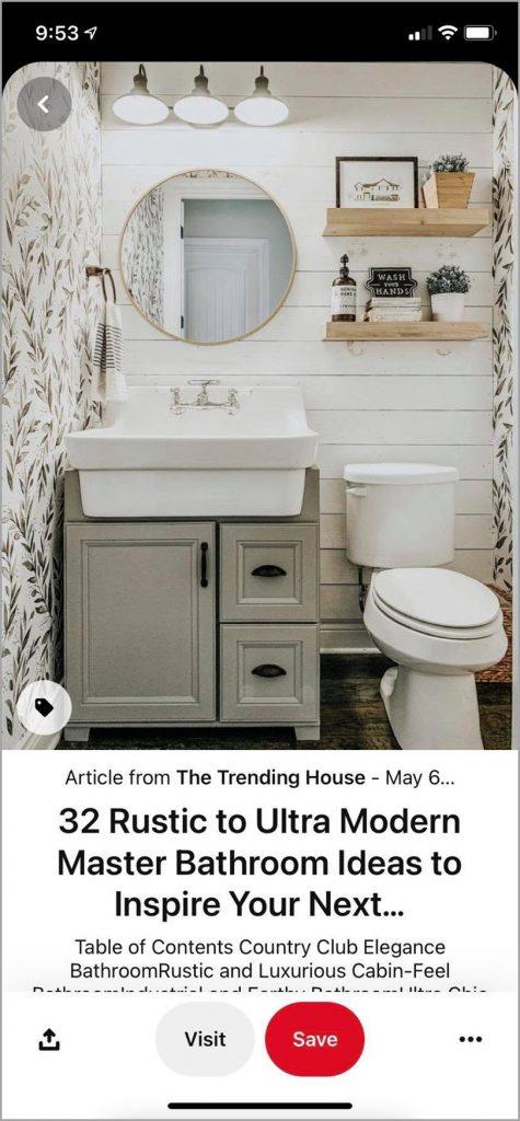 32-Rustic-to-Ultra-Modern-Master-Bathroom-Ideas-Pinterest