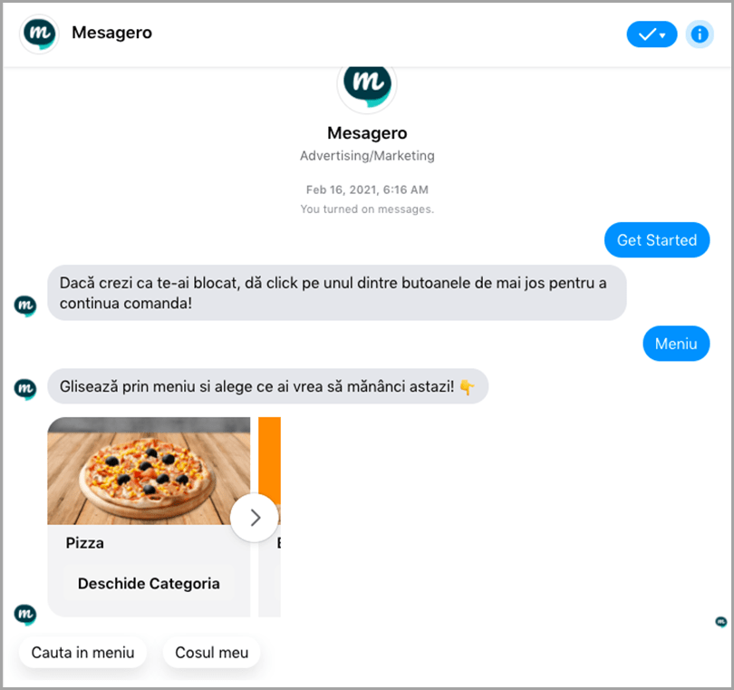 Mesagero-Chatbot- Engagement
