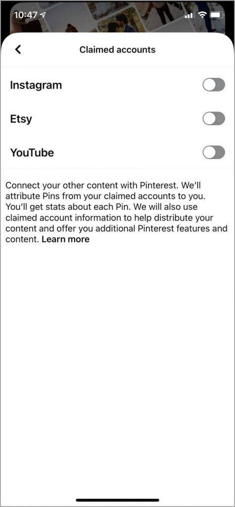 Original-Content-Claimed-Accounts