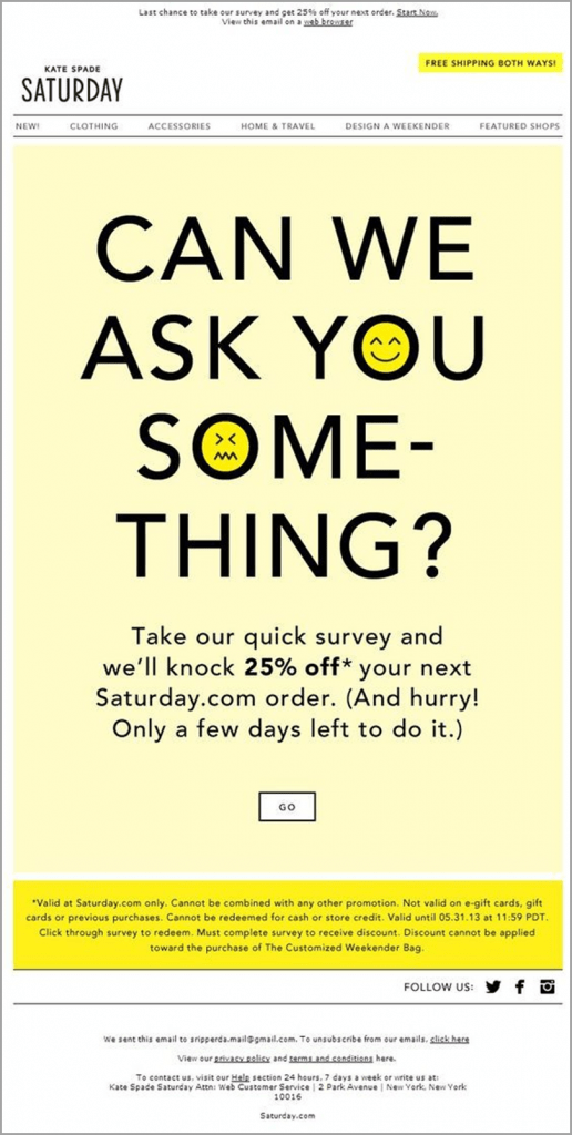 email-newsletter-ideas-kate-spade-saturday-can-we-ask-you-something