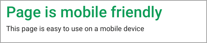 Page-Is-Mobile-Friendly