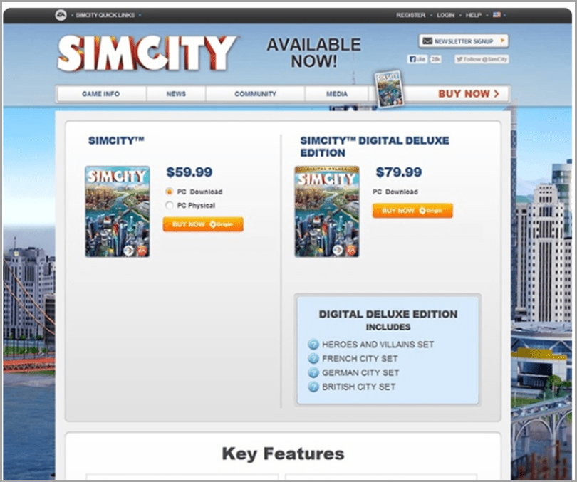SimCity-Key-Features