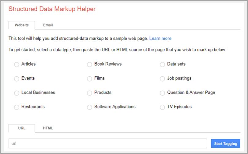 Structed-Data-Markup-Helper