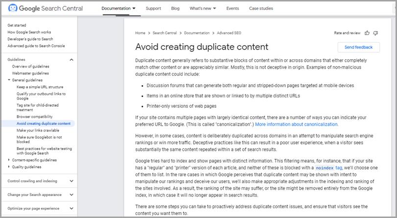 Avoiding-Creating-Duplicate-Content