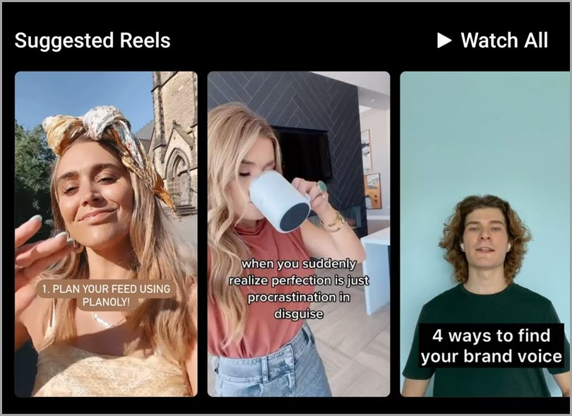 Suggested-Reels