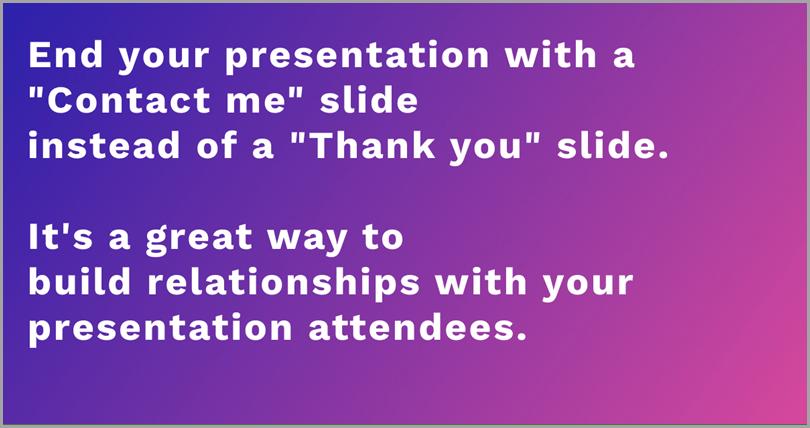 End-Your-Presentation
