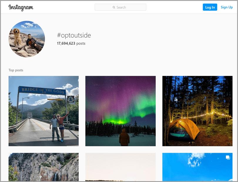 Instagram-Optoutside
